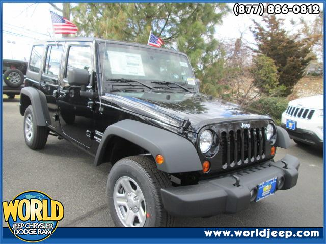 2013 JEEP Wrangler Unlimited  23C CUSTOMER PREFERRED ORDER SELECTION PKG -inc 36L V6 engine 6-sp