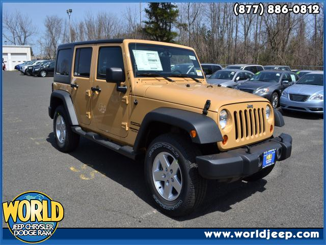 2013 JEEP Wrangler Unlimited  blue tooth 24S CUSTOMER PREFERRED ORDER SELECTION PKG -inc 36L V6