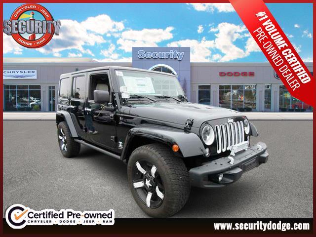 New 2016 Jeep Wrangler, $53500