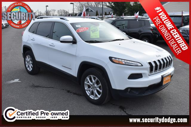 certified pre-owned 2015 jeep cherokee latitude latitude in