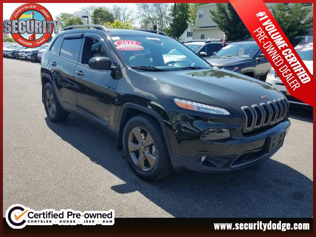 Certified Pre Owned 2016 Jeep Cherokee 4wd Laude