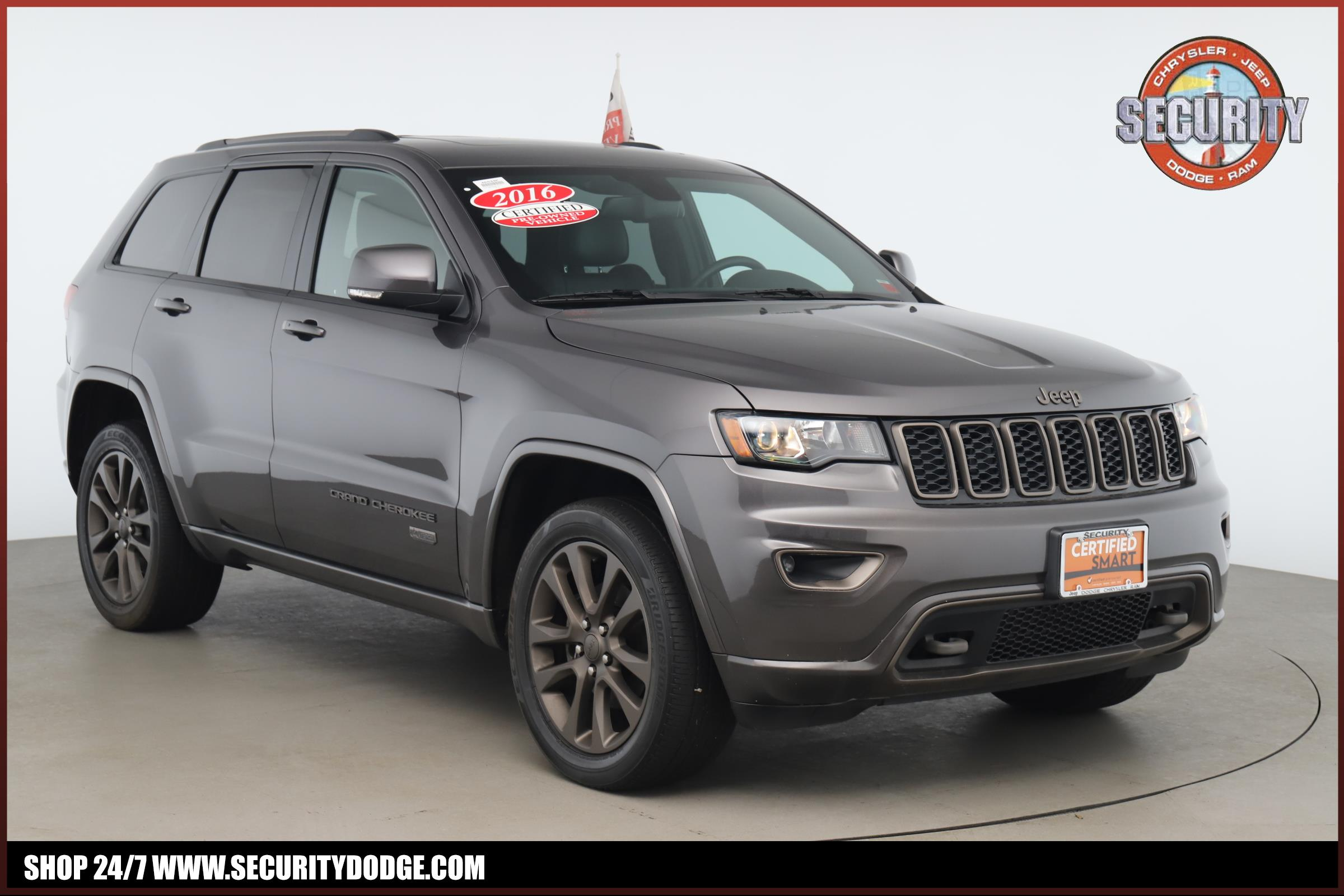 Certified Pre Owned 2016 Jeep Grand Cherokee Limited 75th Anniversary Edition 4wd