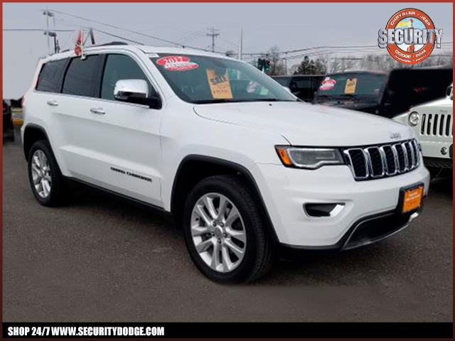 Certified Pre Owned 2017 Jeep Grand Cherokee Limited 4x4 Limited 4x4