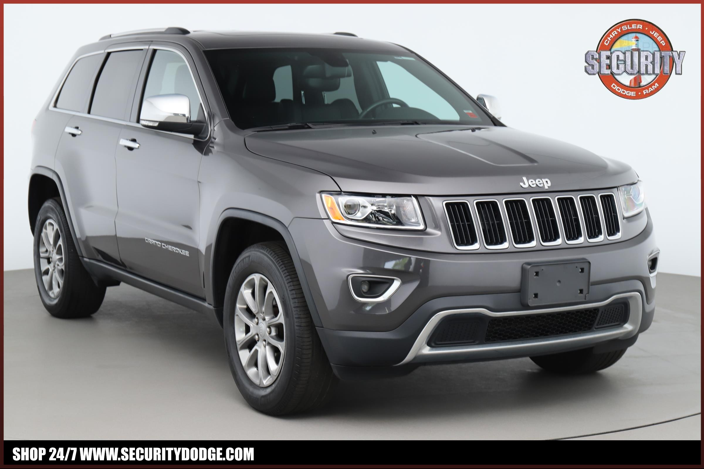 Certified Pre-Owned 2016 Jeep Grand Cherokee Limited 4X4